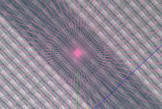 スカイドームテクスチャの歪み-011